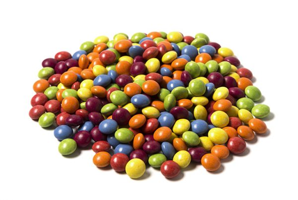 793CA01 Lentejas de chocolate confitado x 1 kg suelto